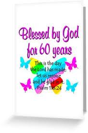 60 year birthday christian 60th year birthday greeting cards by jlporiginals