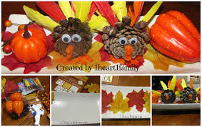 table centerpieces kid made thanksgiving table decorations table