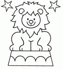 circus coloring book pages kids coloring