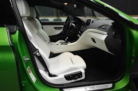 java green bmw bmw m6 gran coupe in java green color interior photo front