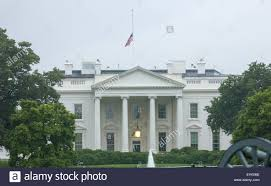Flags Today At Half Mast The Flag At The White House Is At Half Staff In Washington Because