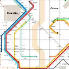 Map Of Queens Infographic Of The Day A Map Of Nyc U0027s Design Scene The Future