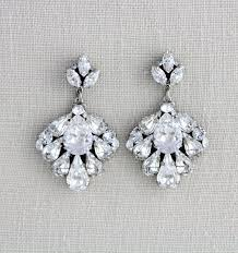 vintage wedding earrings chandeliers 808 best bridal earrings images on bridal earrings