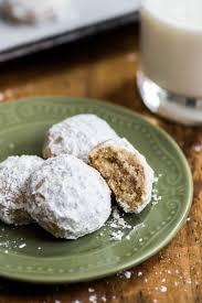 wedding cookies mexican wedding cookies polvorones eats