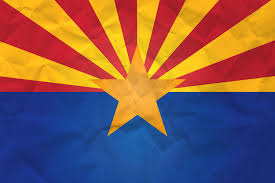 flag of arizona with paper texture download it for free