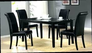 black dining room chairs set of 4 set of 4 dining room chairs jcemeralds co