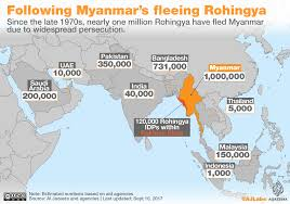 Middle East And Asia Map by Rohingya Crisis Explained In Maps Arakanmedia News Portal