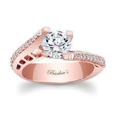 Wedding Rings Rose Gold by Barkev U0027s Rose Gold Engagement Ring 7927lp