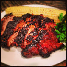 Worlds Famous Souseman Barbque Home Delicious Rib Plate With Hawaiian Bbq Mac Salad Pulled Pork