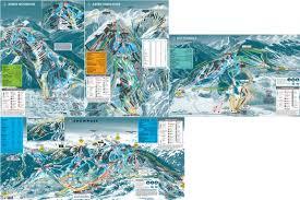 Colorado Ski Area Map by Ski Resort Aspen Ski Resort Trail Map