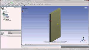 ansys two way fluid structure interaction part 1 youtube