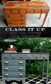 3 Vintage Furniture Makeovers For by Best 25 Antique Desk Ideas On Pinterest Painted Desks Vintage