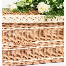 quantock curved end coffin musgrove willows coffins