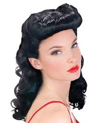 pin up wig realistic lace front wig