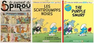 55 belgian blues history smurfs
