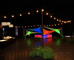 Patio String Lighting Ideas by Clear Bulb String Lighting Orlando Corporate Event Decor Design