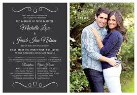 Photo Wedding Invitations Wedding Invitations Using Photos Wedding Decorations Tool