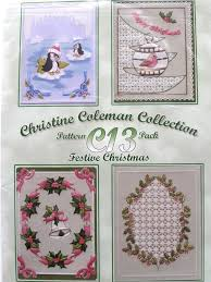 pattern pack c13 by christine coleman christmas patterns by