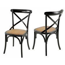 chaise bistrot chaise de bistrot villa florence lot de 2 mooviin