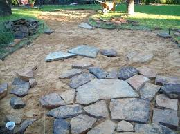 Backyard Pavers Design Ideas How To Be Creative With Stone Fire Pit Designs Backyard Diy