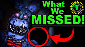 game theory fnaf the clue that solves five nights at freddy u0027s