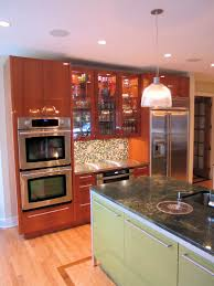 neff mahogany kitchen in springmill indianapolis wrightworks llc in
