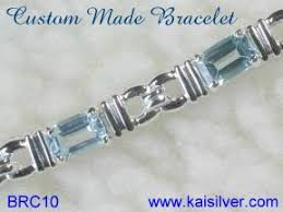 blue topaz bracelet white gold images Amethyst bracelet gold or sterling silver bracelets with amethyst jpg