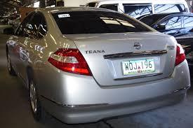 nissan teana 2010 2013 nissan teana 2 5 xl v6 auto trade philippines