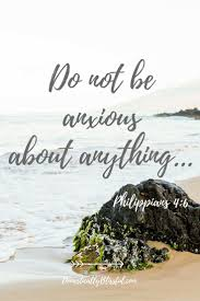 be anxious for nothing but in everything by prayer supplication
