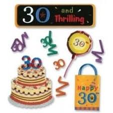 the big 30 birthday stickers by jolees 1 89 spjb195 30th
