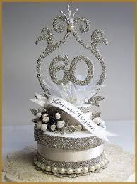 60 year anniversary party ideas 60th wedding anniversary cake topper keepsake box 90 00 via
