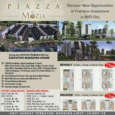 bca aeon rumah dijual piazza house the mozia bsd city selangkah dari aeon mall