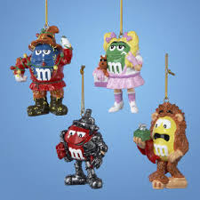 ksa club pack of 12 wizard of oz character m m ornaments