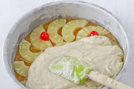 pineapple upside down cake jehan can cookjehan can cook