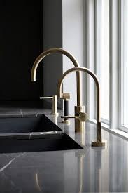 Dornbracht Kitchen Faucet by Black Gold Contrast Modern Kitchen Modern Design Interior Design