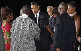 Seeking Obama Barack Obama Arrives In On Trip Telegraph