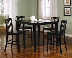 Dining Room Table Counter Height Ashland 5 Piece Counter Height Dining Set Black Counter Height