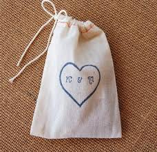 cloth gift bags wedding favor bags set of 175 4x6 inch customized handsted
