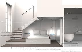 mezzanine chambre amenagement sous escalier interieur avec am nagement d une chambre