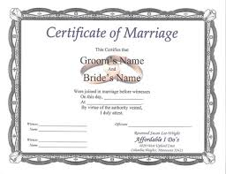 9 best images of marriage certificate format indian marriage
