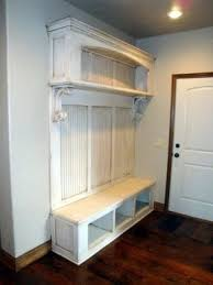 entryway tree with storage bench foter