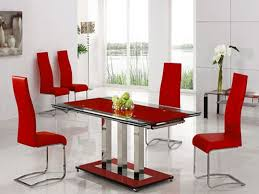 Red Leather Kitchen Chairs - dining room leather chairs страница 3 dining room decor ideas