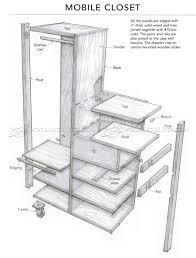 Closet Plans by Mobile Closet Plans U2022 Woodarchivist