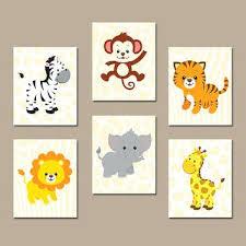 Wall Decor For Boy Nursery Boys Nursery Wall Decor Boy Animal Wall Boy Animal Nursery