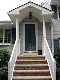 Porch Vs Portico by Front Entry Portico Remodeling Projects In New Jersey Design