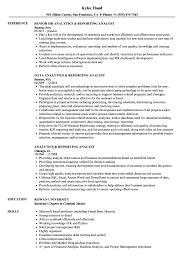 financial analyst resume exle analytics reporting analyst resume sles velvet