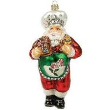 3 5 chef cook baker deer jingle bell ornament