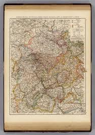 Nassau Map Rhenish Prussia Westphalia Hesse Nassau Waldeck Lippe Hesse