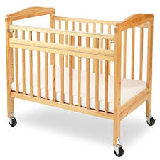 Baby Folding Bed Amazon Com La Baby Compact Non Folding Wooden Window Crib With