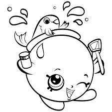 shopkins fish bowl free coloring page u2022 kids shopkins coloring pages